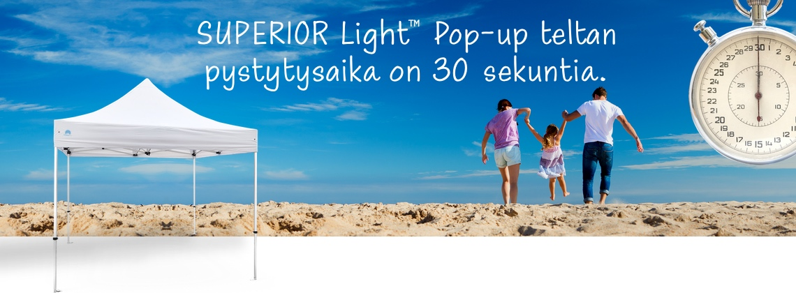 Pop-up teltat SUPERIOR Light™
