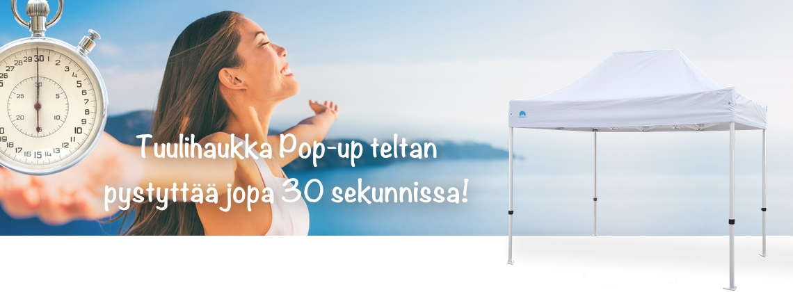 Pop-up teltta