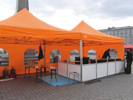 Pop-up teltta 4x4m