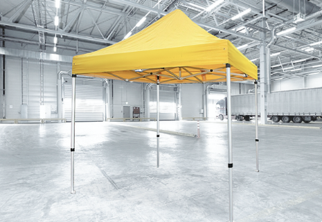 Basic katto Pop-up telttaan 3x3m keltainen